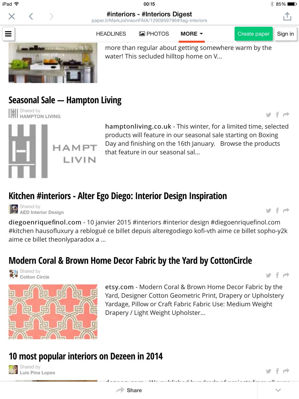 Interiors Deigest Online June 2015