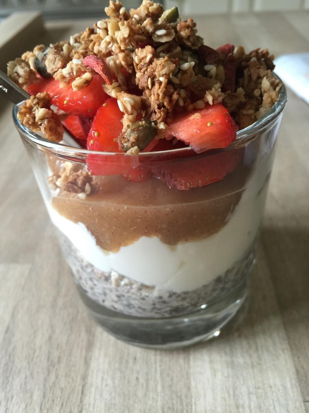 breakfast jar