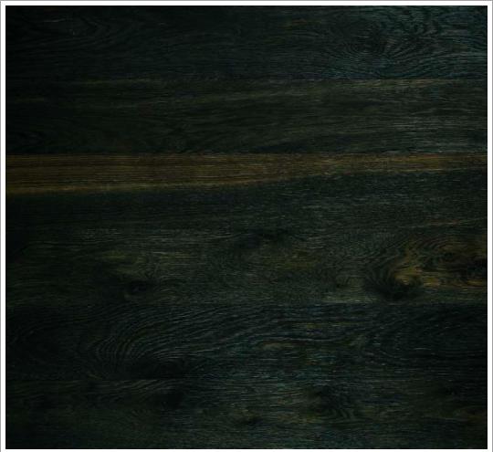 Junckers solid black oak oil plank