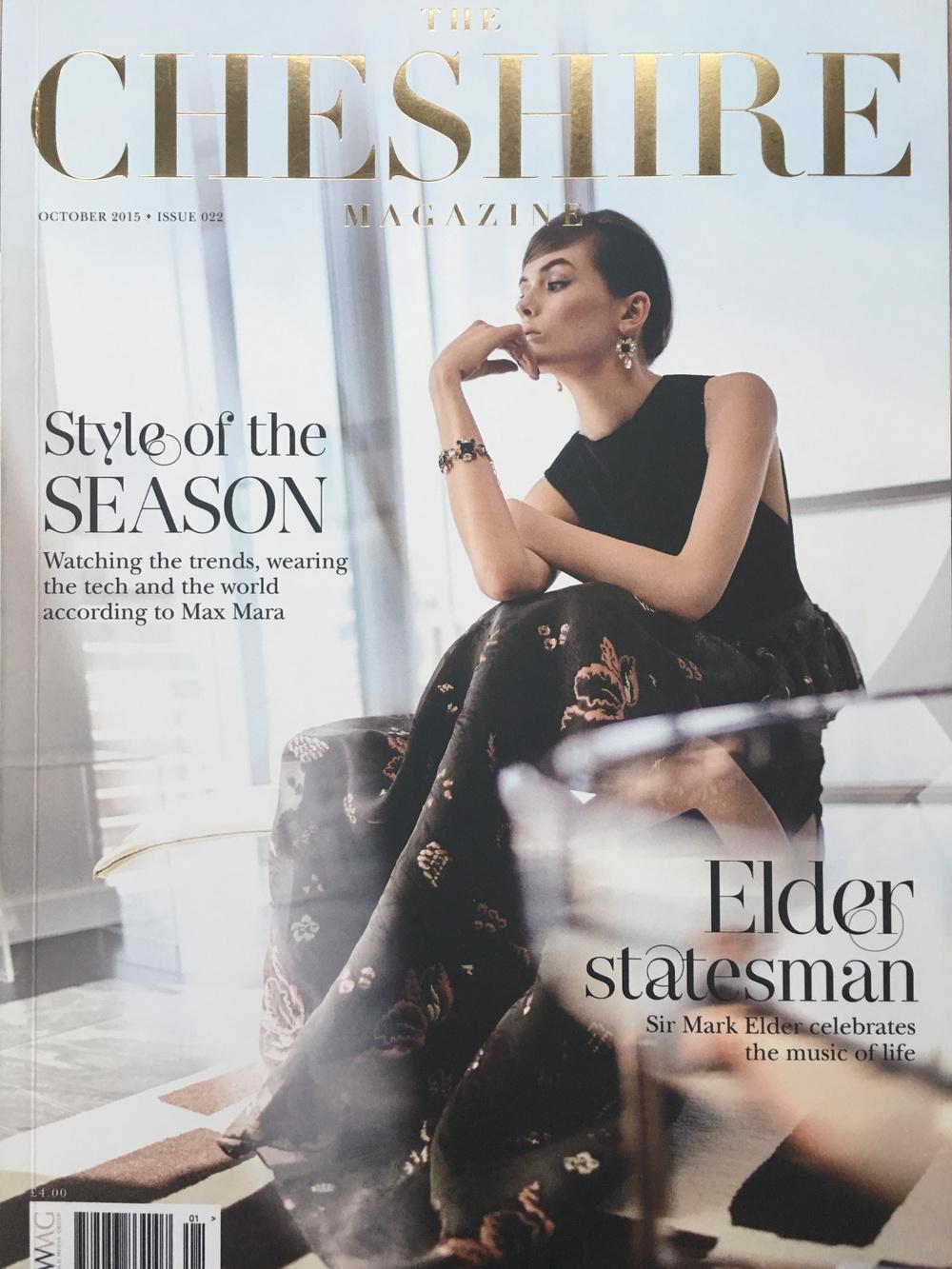 The Cheshire Magazine October 2015