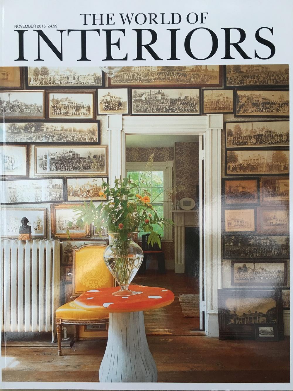 The World of Interiors November 2015