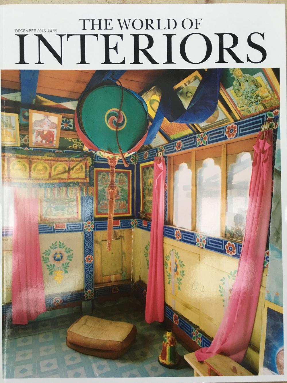 The World of Interiors December 2015