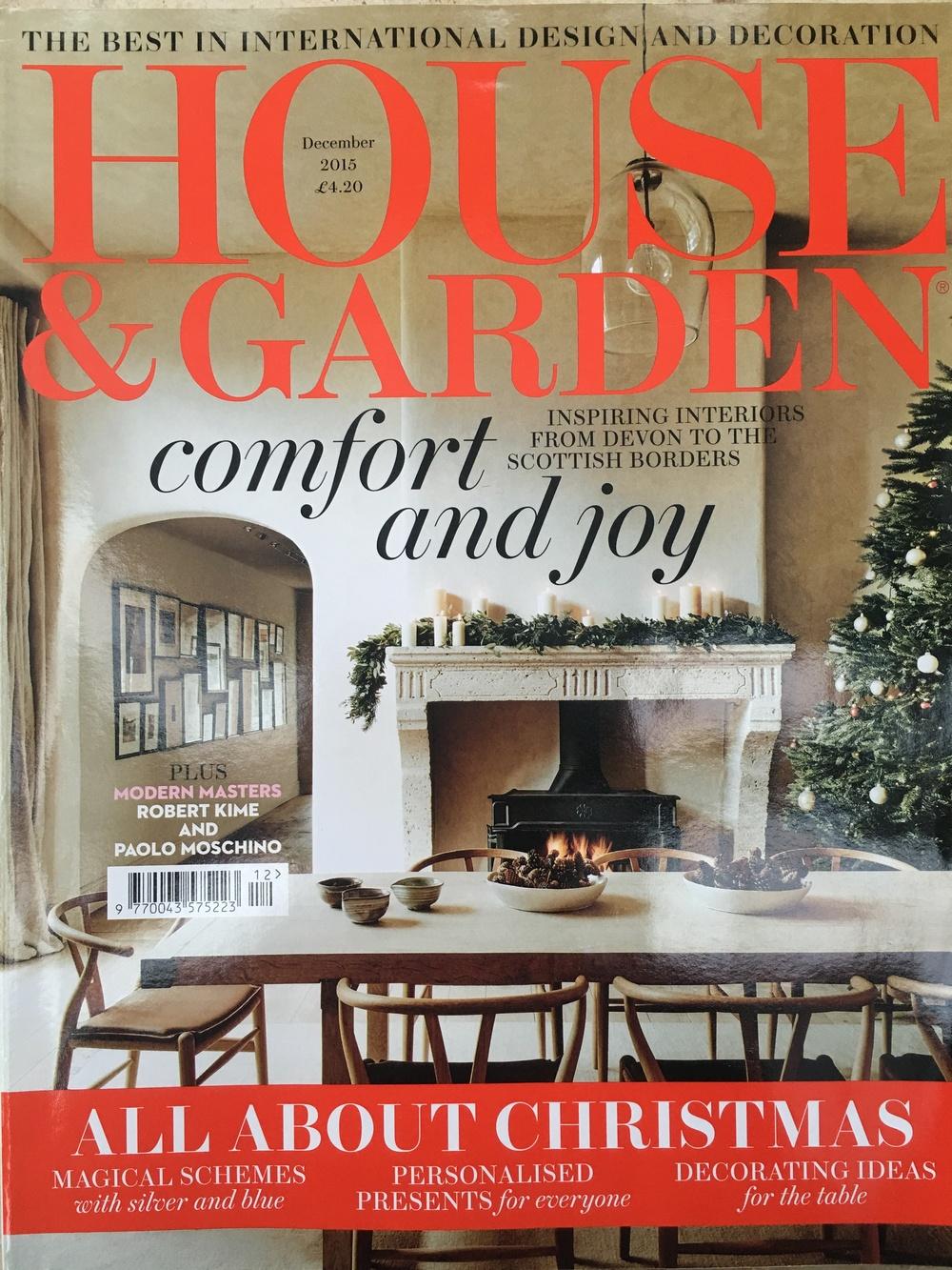 House & Garden December 2015
