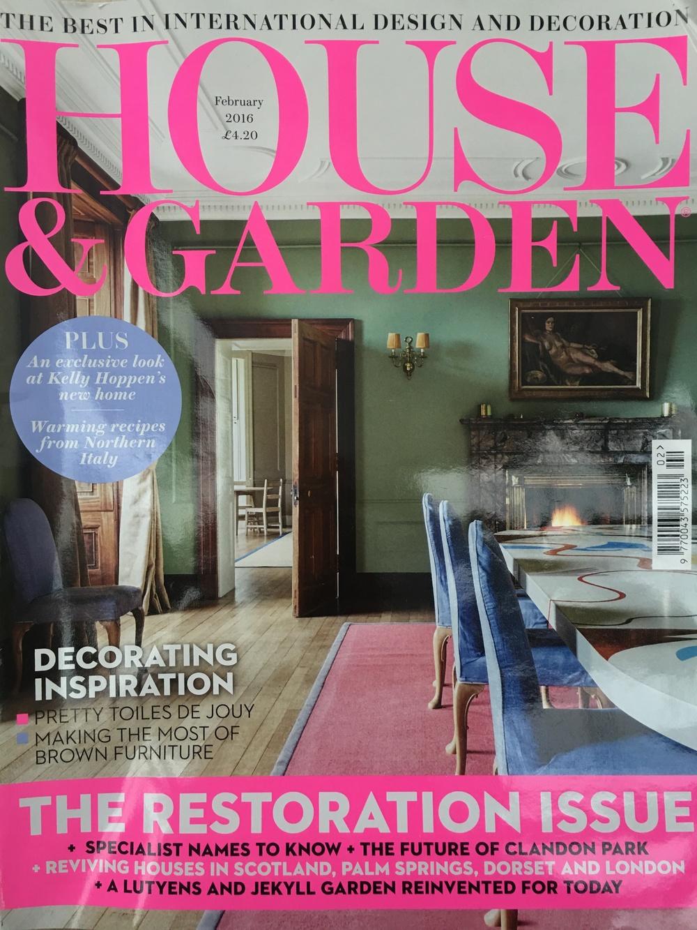 House & Garden February 2016