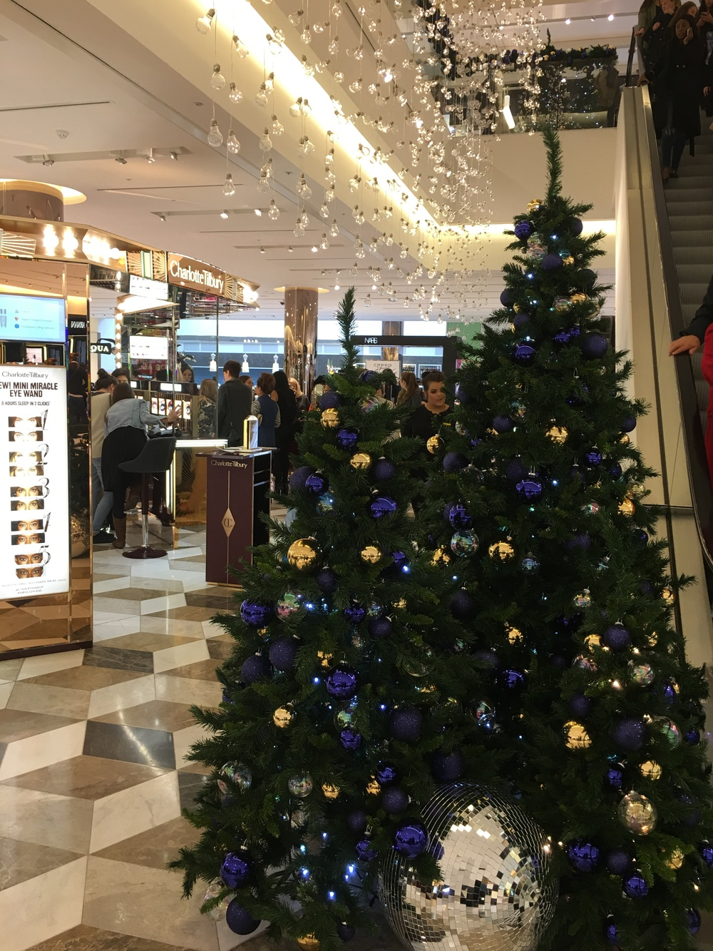 Selfridges Christmas 2015