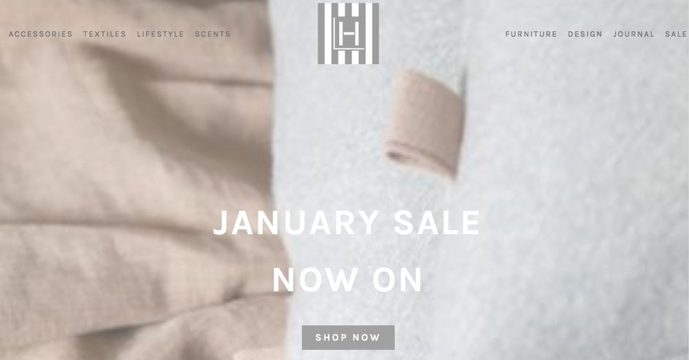 Hampton Living January sale