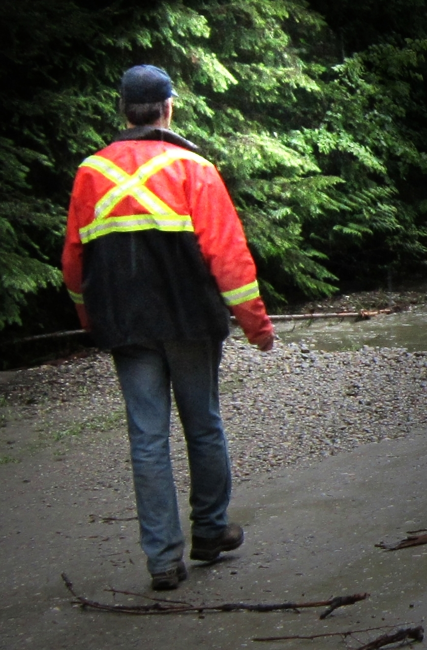 June 2013, Volunteer during Hamill Creek flooding event.