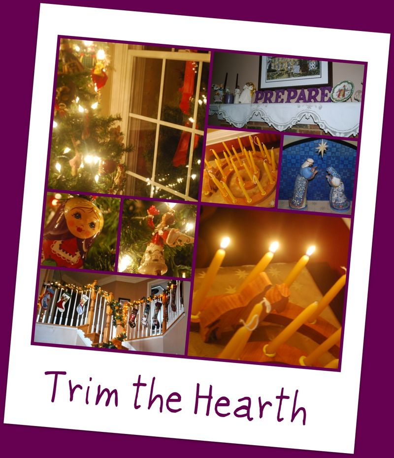 Trim the hearth