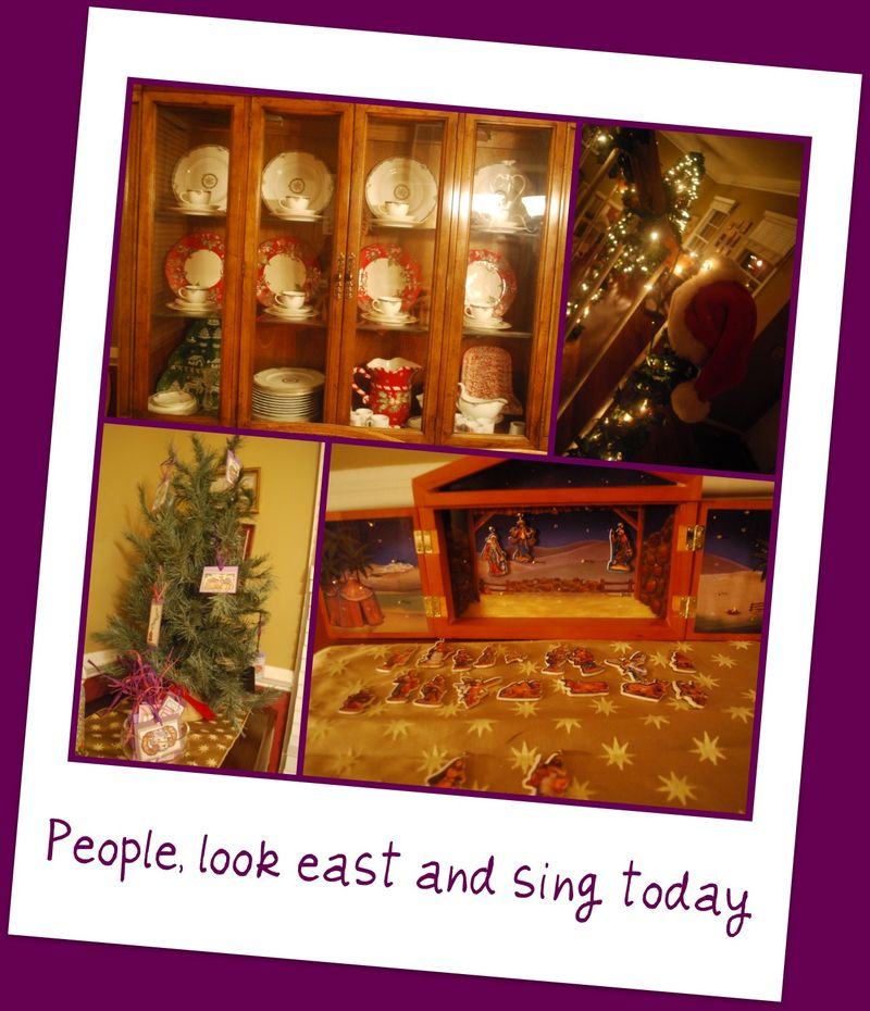 People look east and sing today