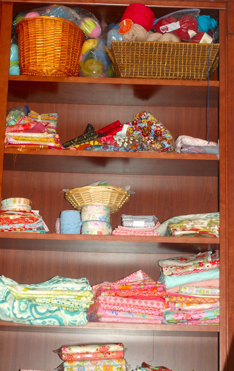 Fabric shelf