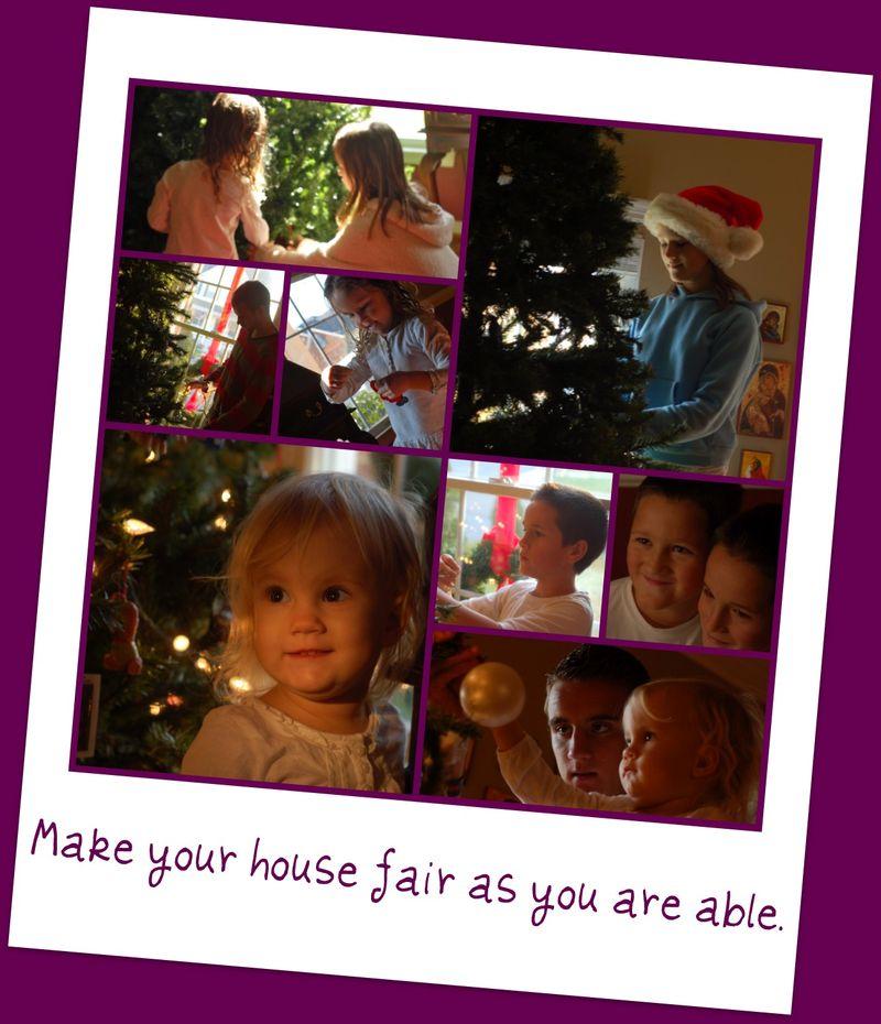 MAKE YOUR HOUSE FAIR