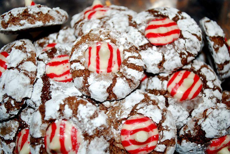 Crackle cookies