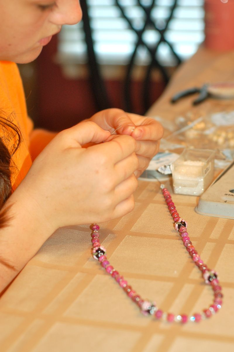 Rosary crafting
