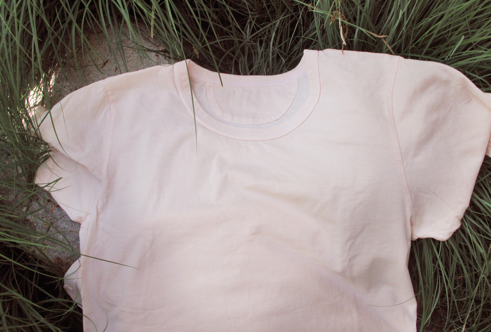 T shirt in light pink