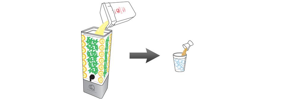 CQ-Lemon-Mint-Julep-Cocktail-Mixer-Infused-Water-Recipe-Step-5-Fill-BPA-Free-Beverage-Dispenser-Lemon-Mint-Julep-Cocktail-Mixer