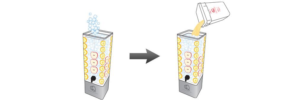 CQ-Lemon-Apple-Juice-Infusions-Recipe-Step-5-Fill-BPA-Free-Beverage-Dispenser-Lemon-Apple-Juice-Infusion