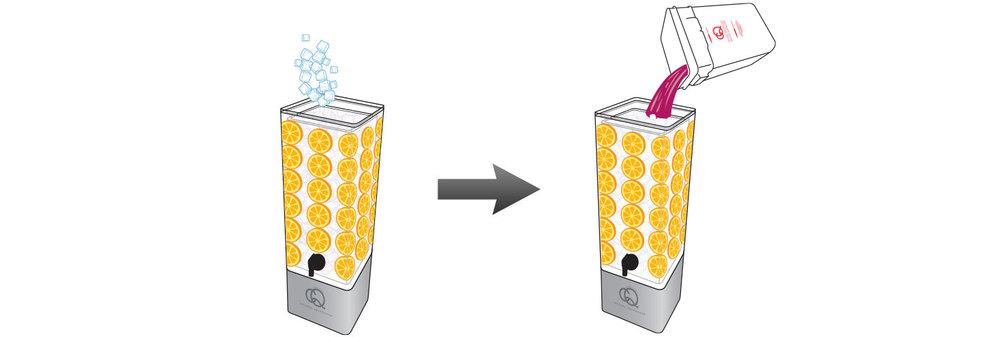 CQ-Black-Raspberry-Açaí-Orange-Spa-Water-Recipe-Step-5-Fill-BPA-Free-Beverage-Dispenser-Black-Raspberry-Açaí-Orange-Spa-Water