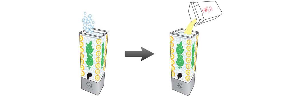 CQ-Lemon-Basil-Spa-Water-Recipe-Step-5-Fill-BPA-Free-Beverage-Dispenser-Lemon-Basil-Spa Water