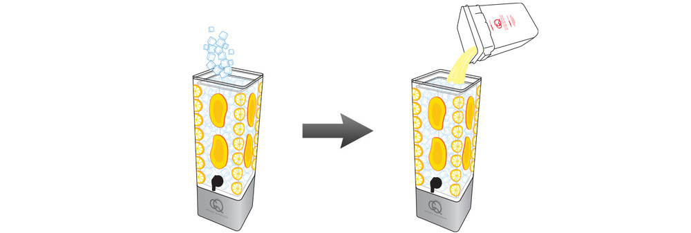 CQ-Lemon-Mango-Spa-Water-Recipe-Step-5-Fill-BPA-Free-Beverage-Dispenser-Lemon-Mango-Spa-Water