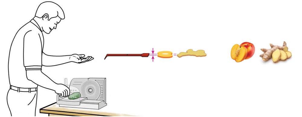 CQ-Peach-Ginger-Spa-Water-Recipe-Step-1-Cut-Fruit-Using-CQ-Slicer-Key.jpg