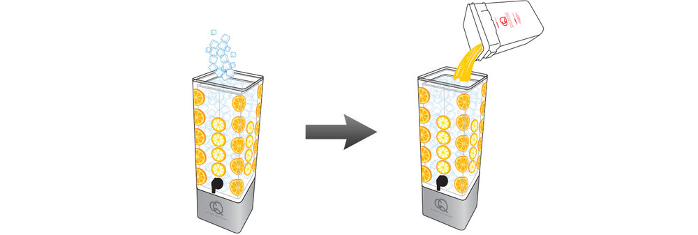 CQ-Lemon-Orange-Juice-Infusions-Recipe-Step-5-Fill-BPA-Free-Beverage-Dispenser-Lemon-Orange-Infused-Water