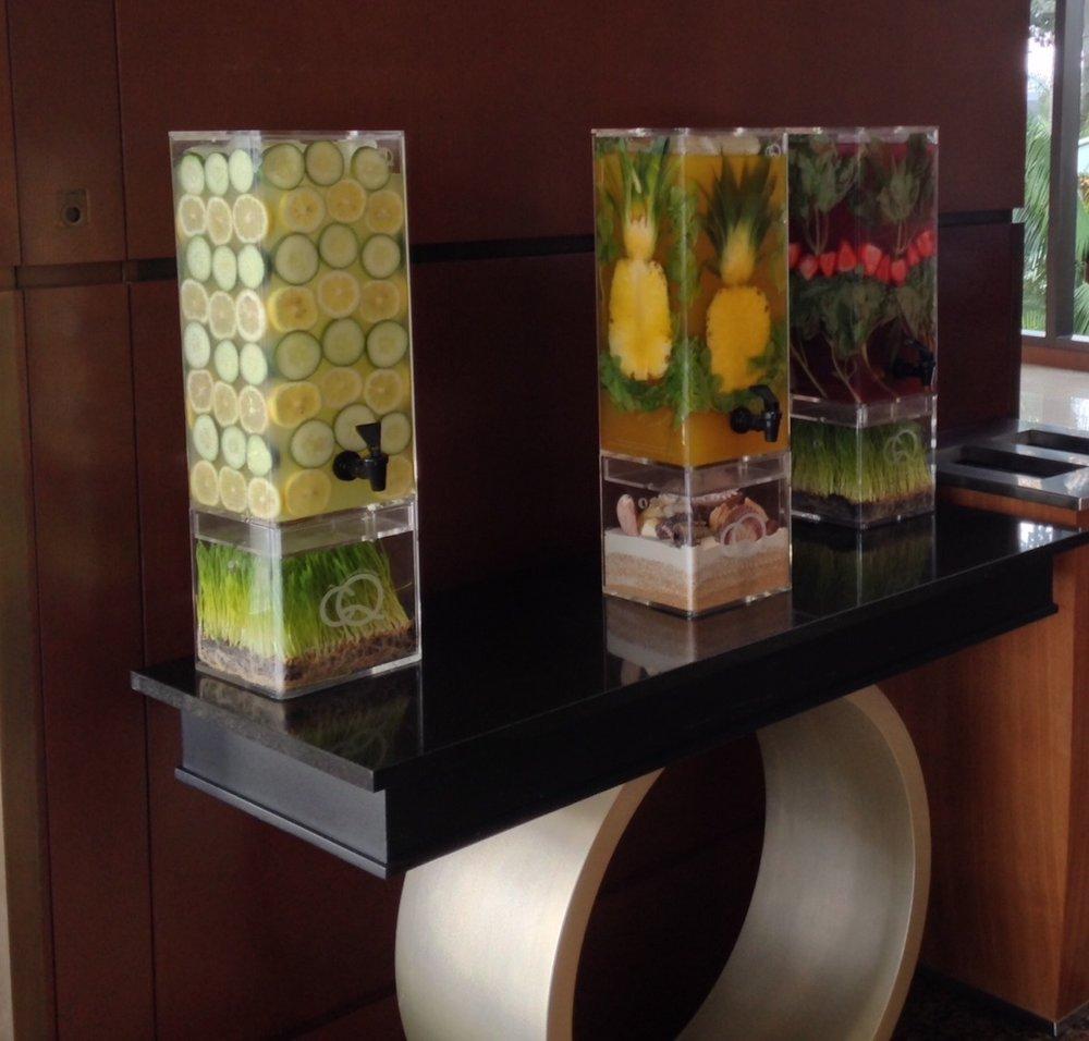 Welcome Water - San Diego Marriott Elite Check-In