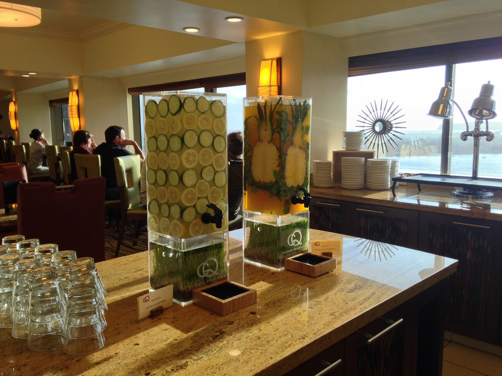 Upgraded Club Level Infused Waters