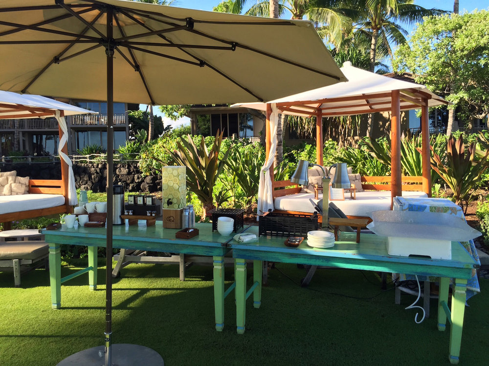 CQ Infused Spa Water, Chef Fest, Four Seasons Resort Hualalai