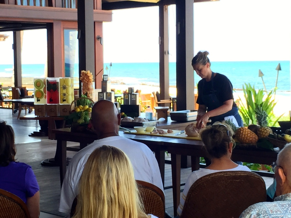 Cooking Demo with Chef Freitag