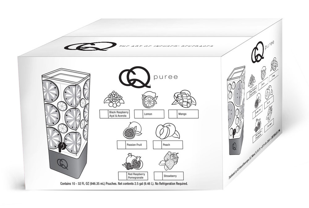 CQ 10-Pack Puree Shipper Box