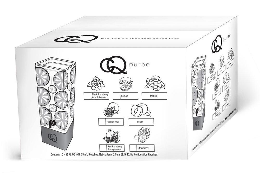 CQ 10-Pack Puree Shipper Box