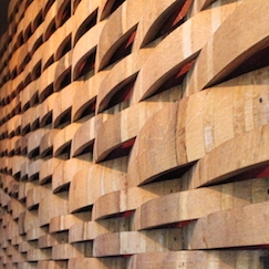 Nick's Italian Cafe - Wine Barrel Wall