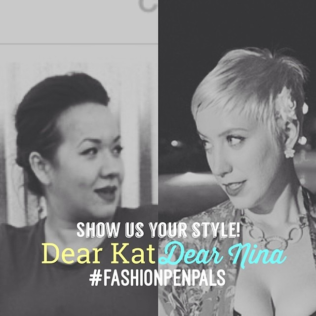 Show us your style! Write us a letter in your Instagram caption and tag #fashionpenpals and @kattonina!