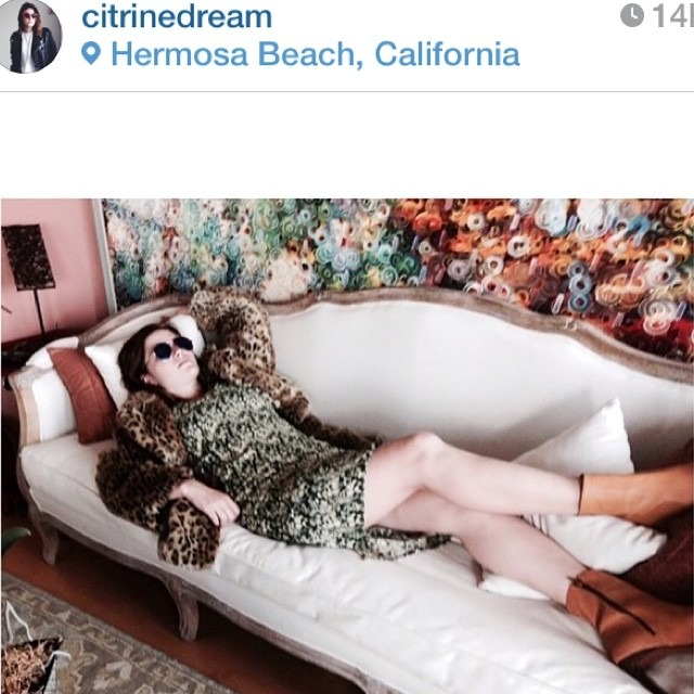 Dear Nina, Loved this picture from @citrinedream so much, I just had to share. Looks like a perfect afternoon, doesn't it? TGIF, that's all I have to say. 💚 Kat http://ift.tt/1y49Qkn