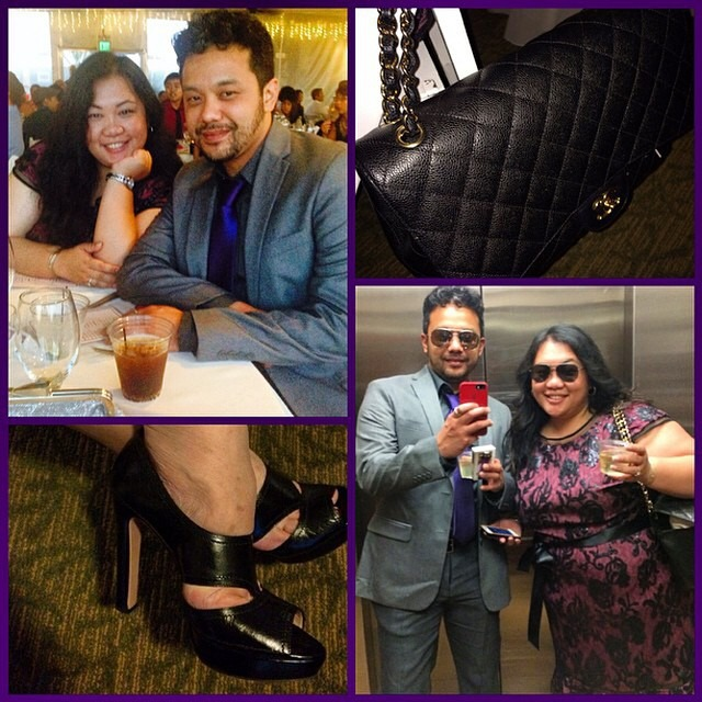 Dear @ndolla and @yayitsjos, you guys look fabulous! Those prada heels girl… You Reyna give me a heart attach! Norms looking fly too in his slate great mix and match pieces from the macys sale rack and H&M. Xoxo, nina via @RepostWhiz app: Dear @fashionpenpals, Here I am at wedding number 2 in Oak-town! My ensemble is courtesy of @ninakay415 (I'm sure she can provide the breakdown). However, @yayitsjos is wearing the following: #adriennepappel dress, #prada shoes, and the bag is from #Chanel. It's the season to get married! - Always the bridesmaid and never the bride, Norm (#RepostWhiz app) http://ift.tt/1D4DR7h