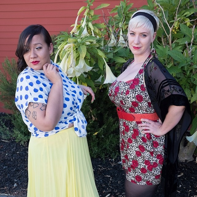So what is #fashionpenpals?@ninakay415 and @pinandhem are just a couple of drapes and squares coming together to celebrate our love of playing dress-up and share great style at every size, shape, gender, age, an income. Check out our new website at fashionpenpals.com! http://ift.tt/1gQqCil