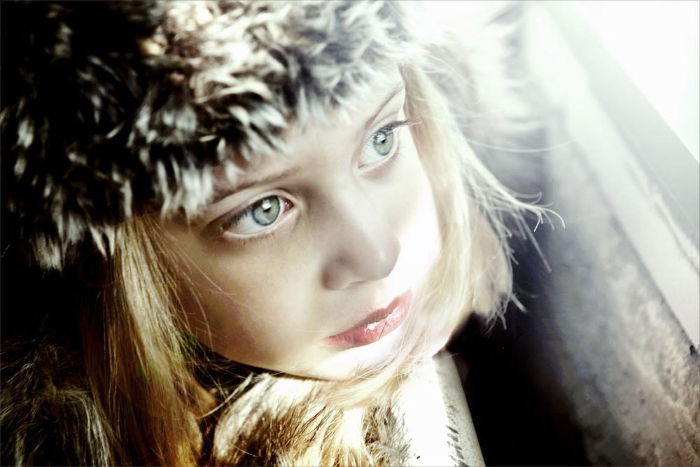 Appaman fur hat, La Miniatura coat.