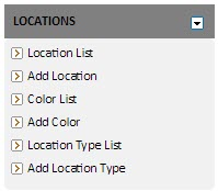 Add and customize locations with the Locations tab in Dispatch Hub