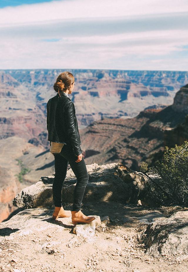 Sara Combs at the Grand Canyon | StyleComb blog