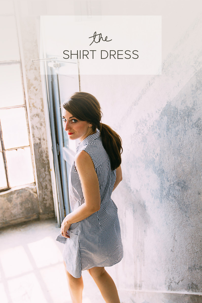 The Shirt Dress | DesignComb