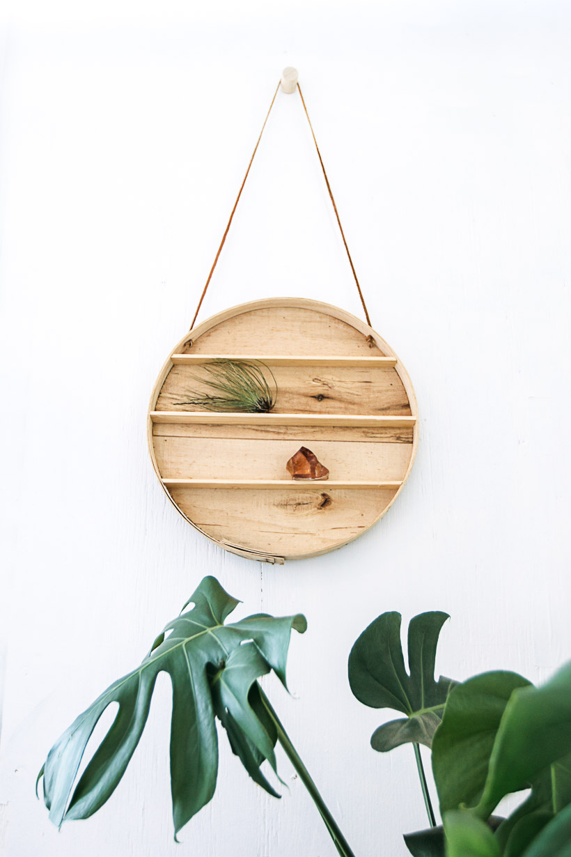 DIY Circle Shelf | DesignComb