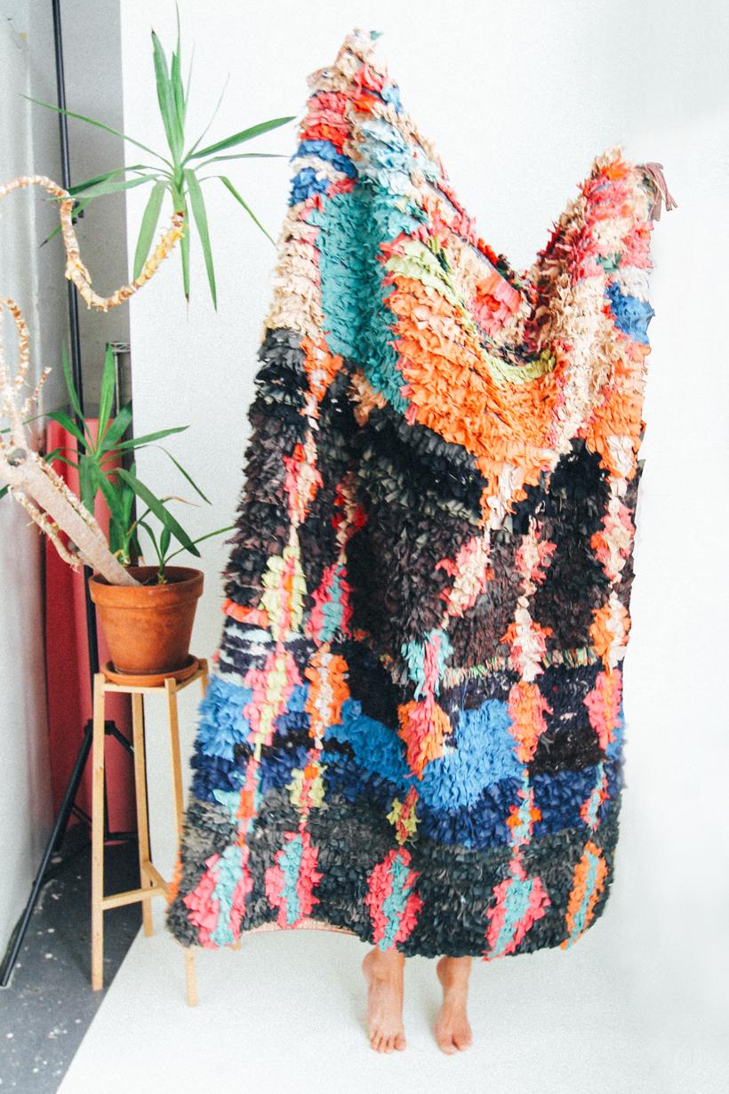 Boucherouite Rug | DesignComb