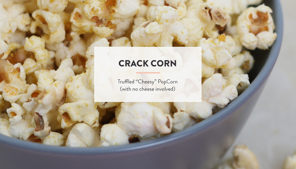 "Truffled ""Cheesy"" PopCorn Recipe | DesignComb"