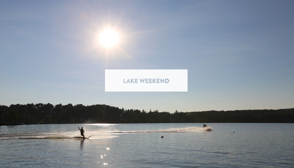 Lake Weekend | DesignComb