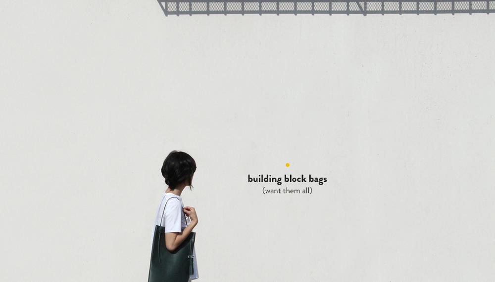 Building Block Bags | DesignComb