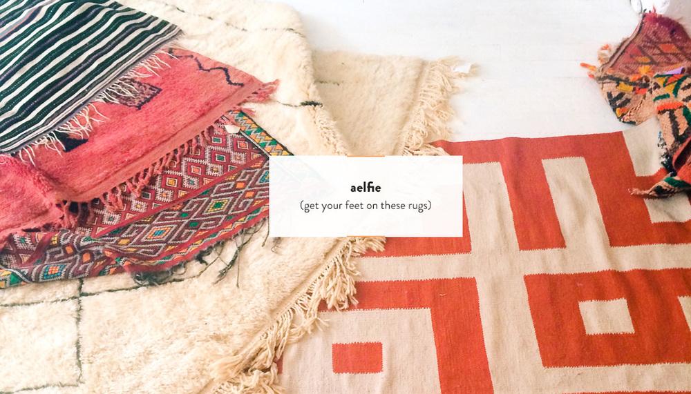 Aelfie Rugs | DesignComb