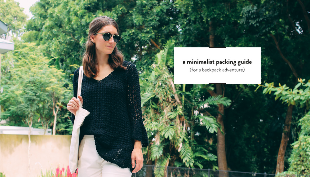 Minimalist Packing Guide | DesignComb