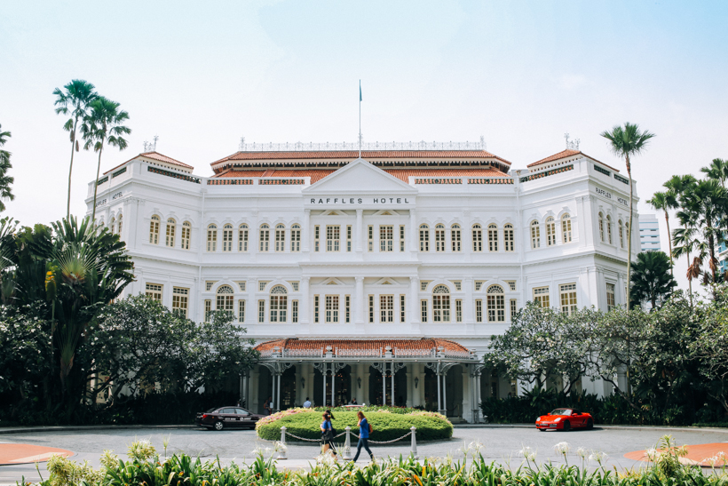 Raffles Hotel in Singapore | DesignComb