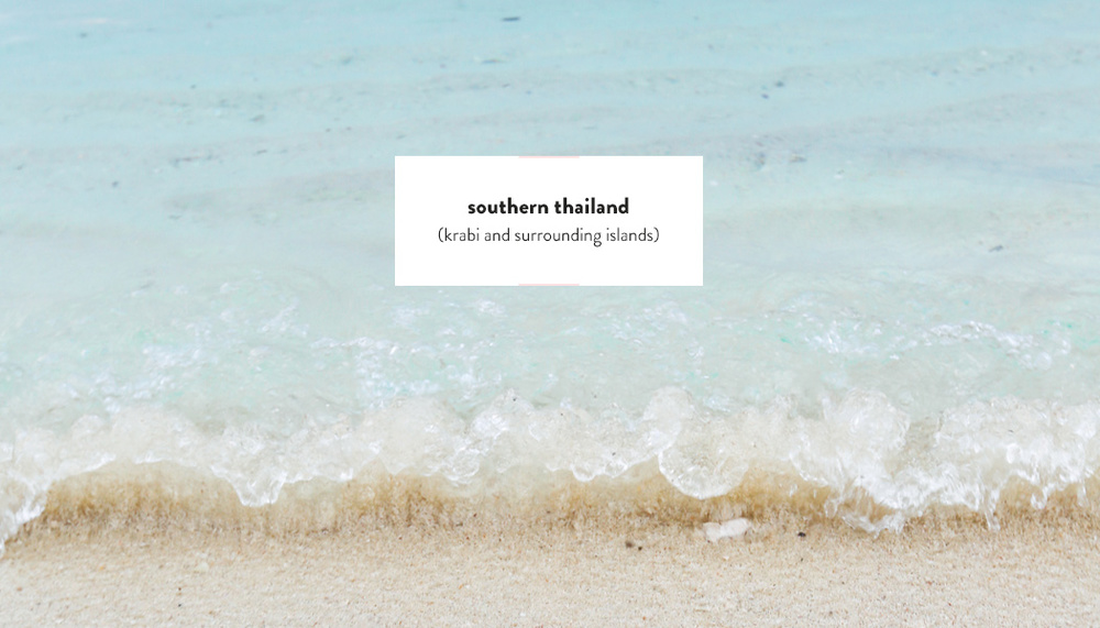 Southern Thailand Guide | DesignComb