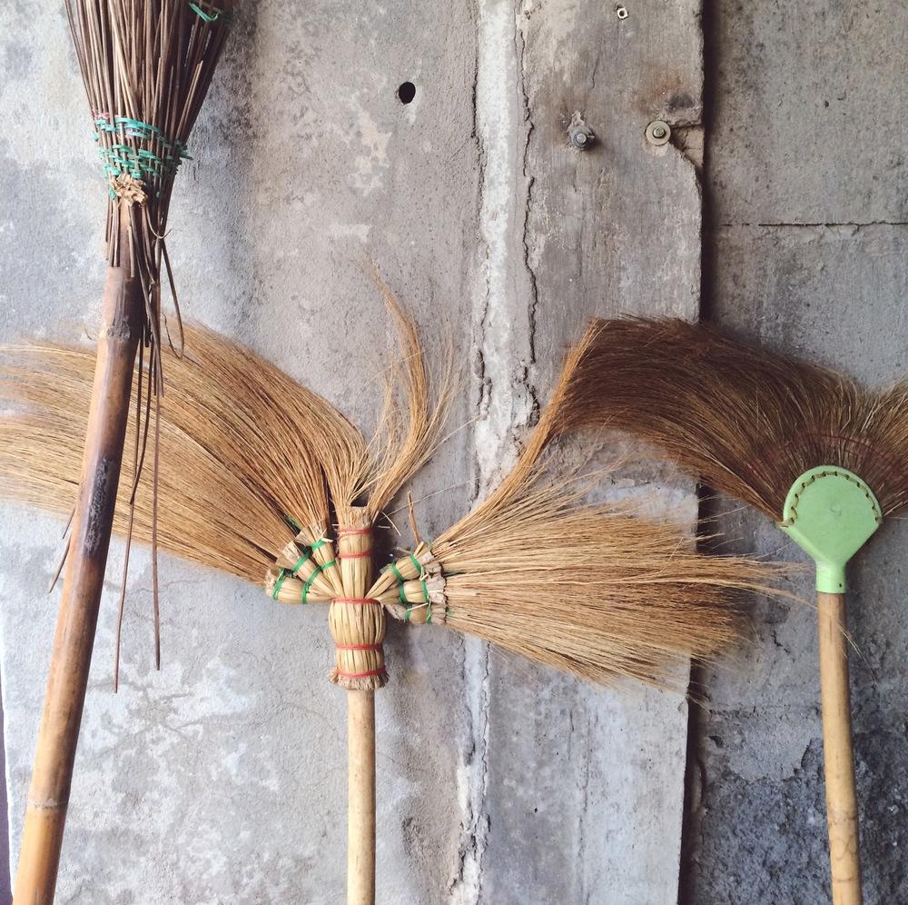 Thai brooms | DesignComb